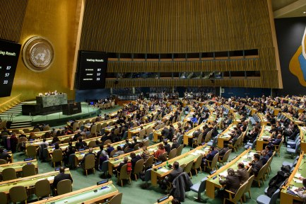 General Assembly Seventy-third session, 47th plenary meeting - The situation in the Middle East - Item 38
